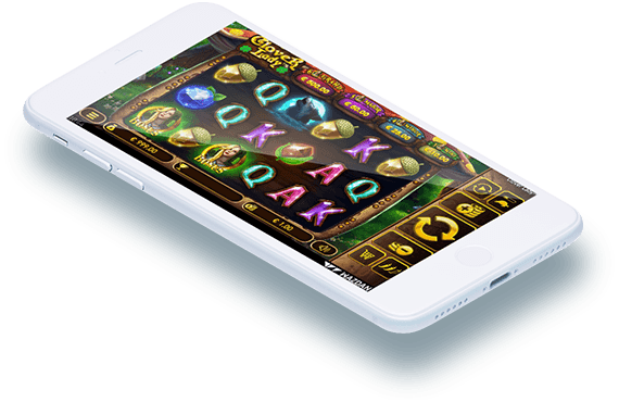 Clover Lady  video slot mobile play