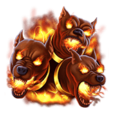 Power of Gods™: Hades Payout Table - symbol Cerberus