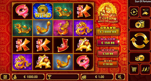 Sun of Fortune slot game preview