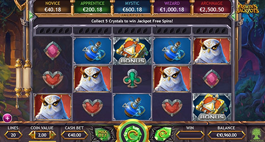 Ozwin's Jackpots game preview