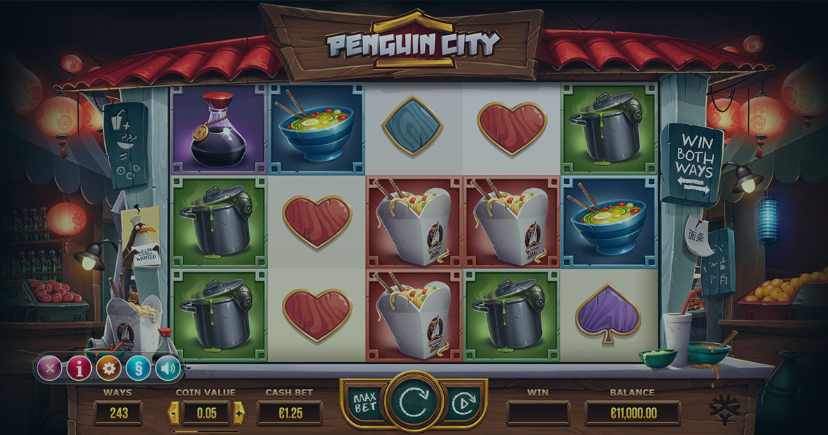 Play Penguin City demo version for free