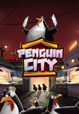 Penguin City game poster