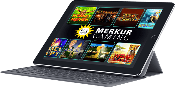 Merkur Gaming's mobile products