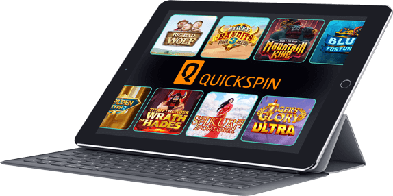 Quickspin mobile products