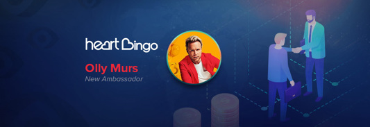 Olly Murs will be partnering up with Heart Bingo