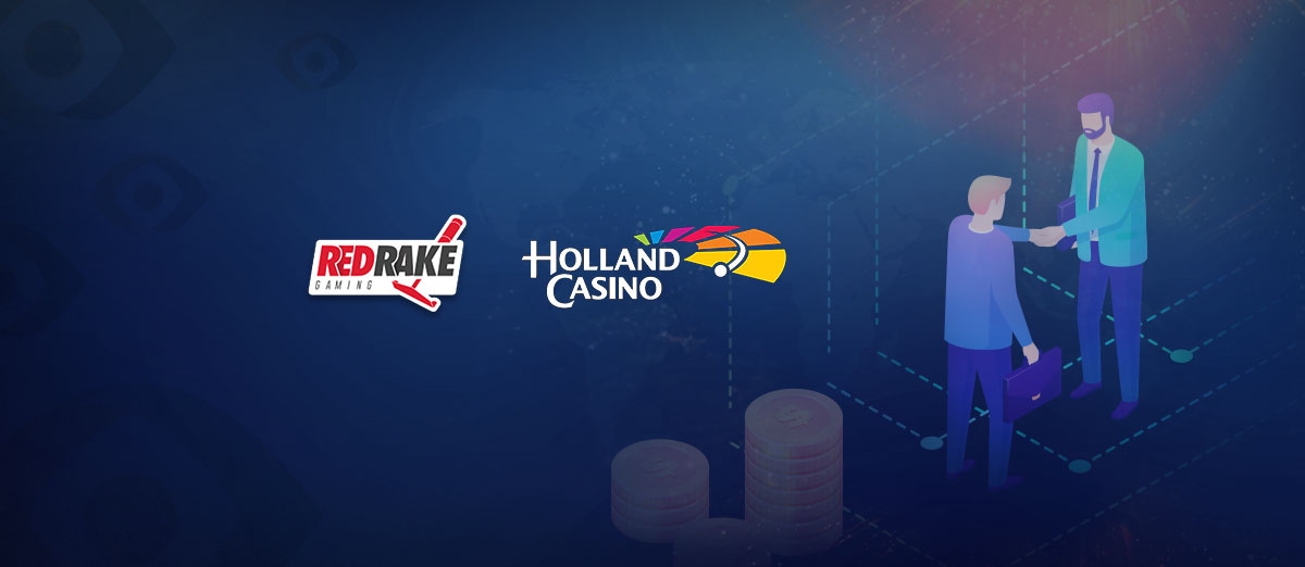 Red Rake Gaming has signed a partnership deal with Holland Casino