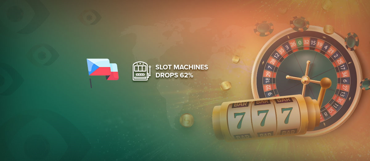 The number of slot machines in the Czech has dropped by 62%