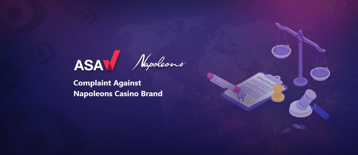 Napoleons Casino Brand Told to Remove Socially Irresponsible Adverts