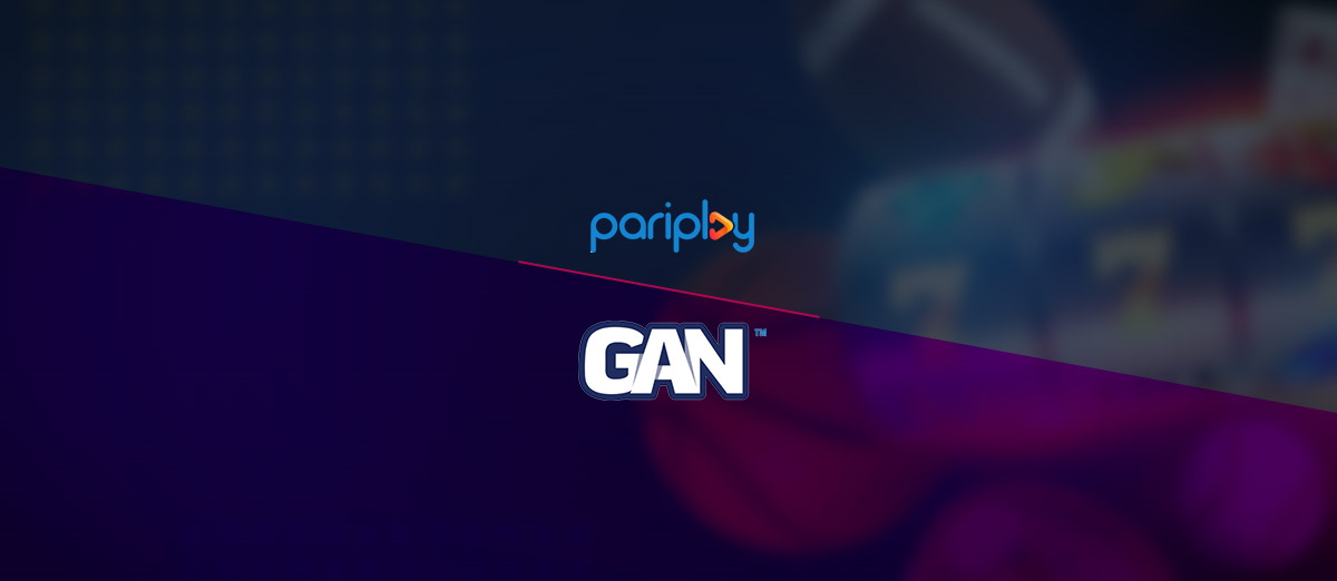 Pariplay has signed a deal with GAN