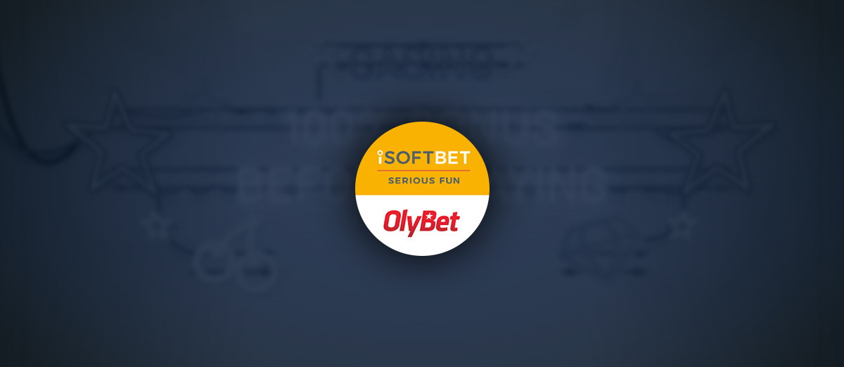 iSoftBet has signed a deal with OlyBet