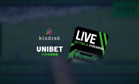 Kindred has launched a new bet-overlay live streaming player