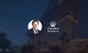 Steve McCann has been announced as the new CEO of Crown Resorts