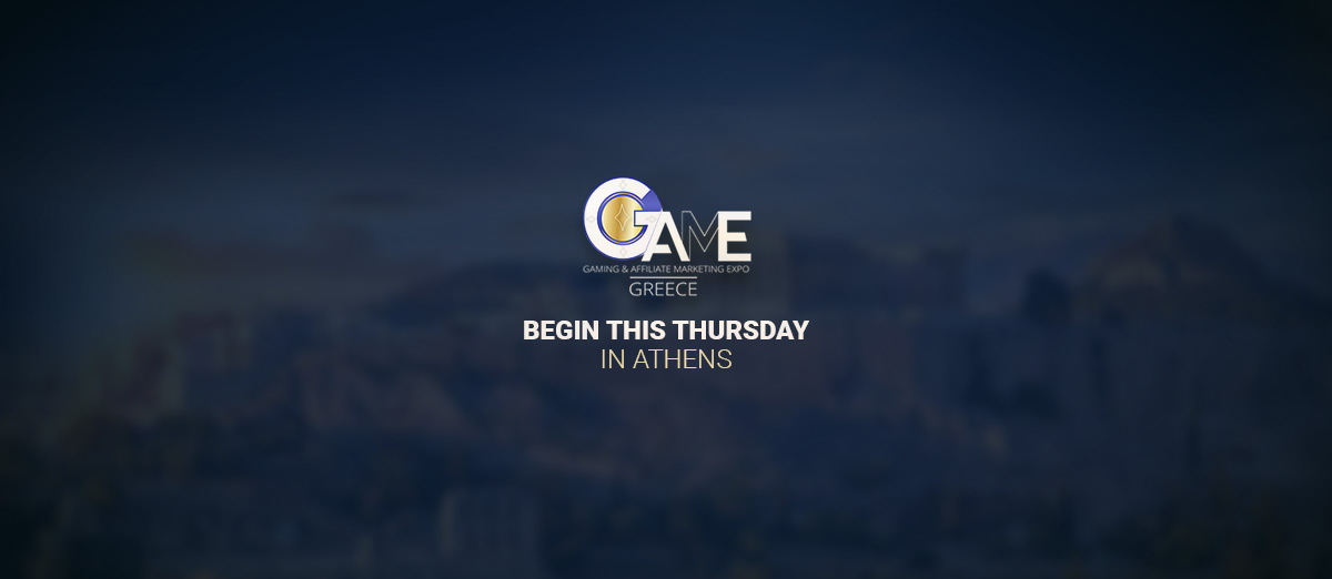 GAME Greece will begin this Thursday in Athens