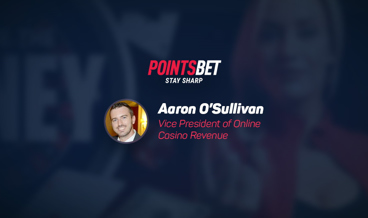 Aaron O'Sullivan is the new Vice President at PointsBet