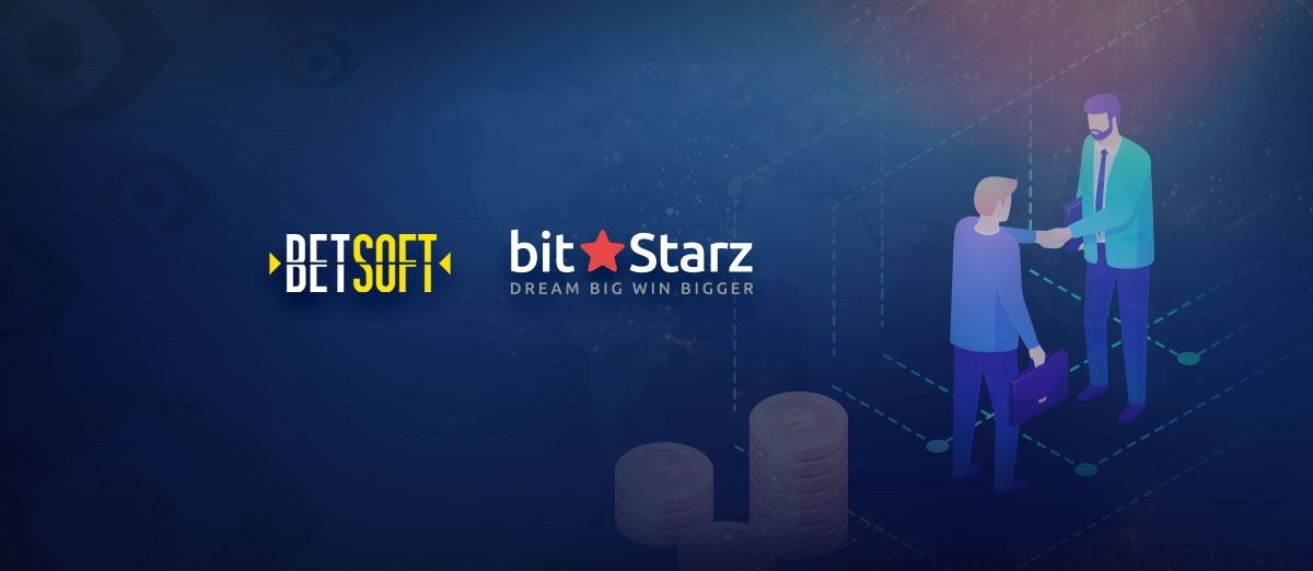 Betsoft has signed a partnership deal with BitStarz