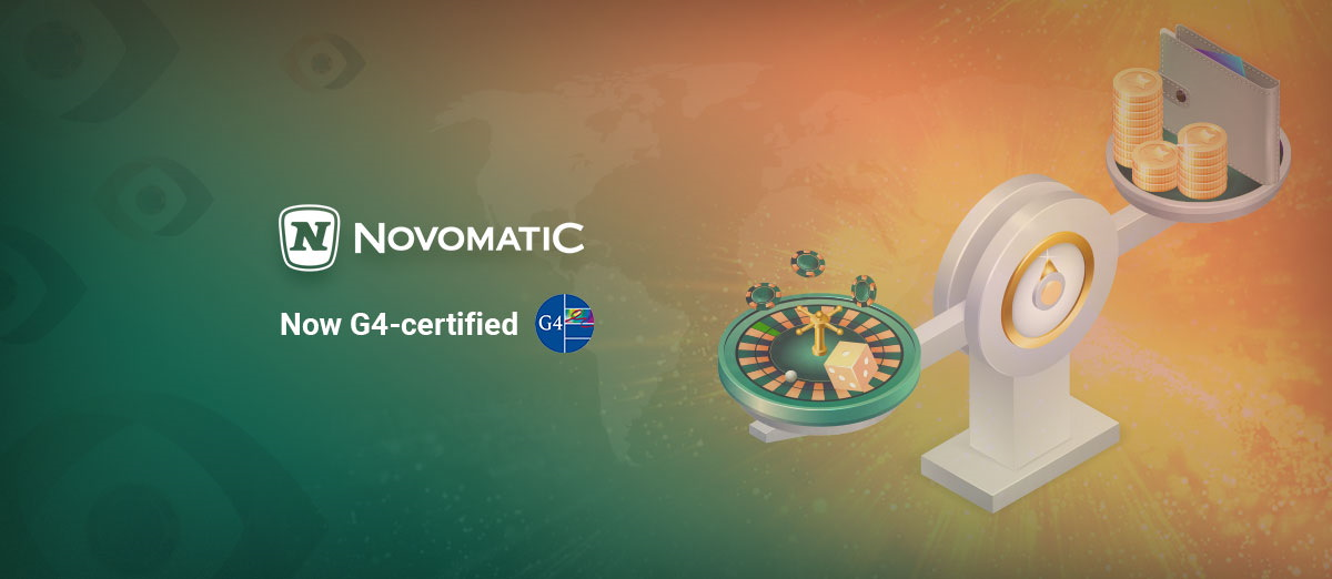 NOVOMATIC obtains certification from G4